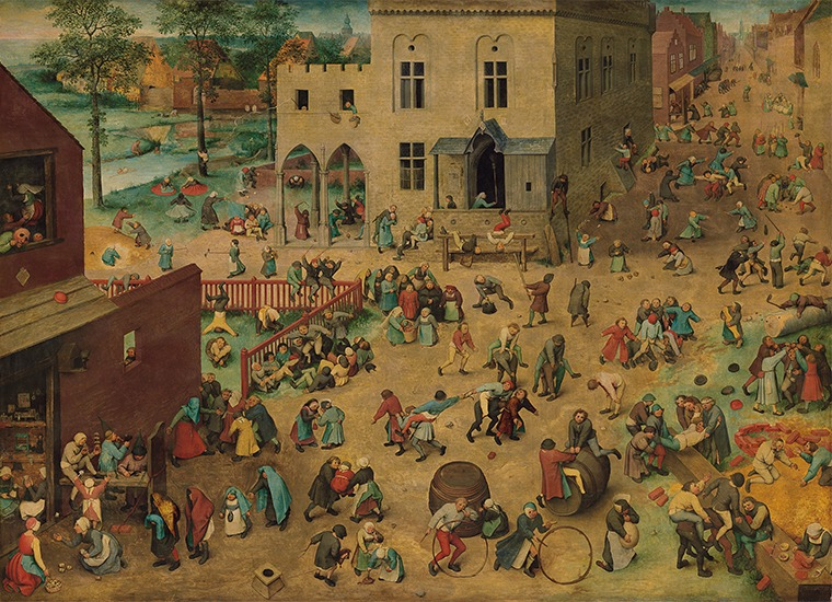 Kinderspiele (Çocuk Oyunları) — Pieter Bruegel The Elder, 1560