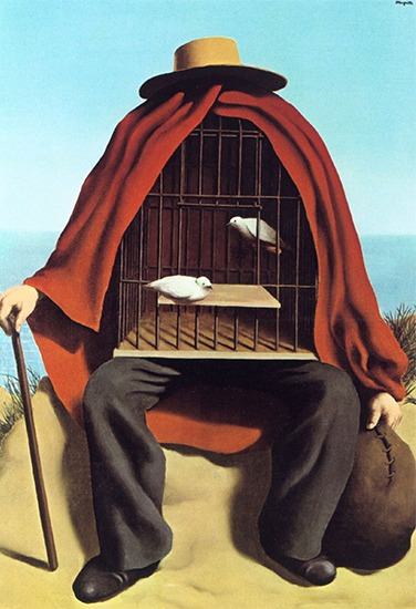 The Therapist — René Magritte, 1937