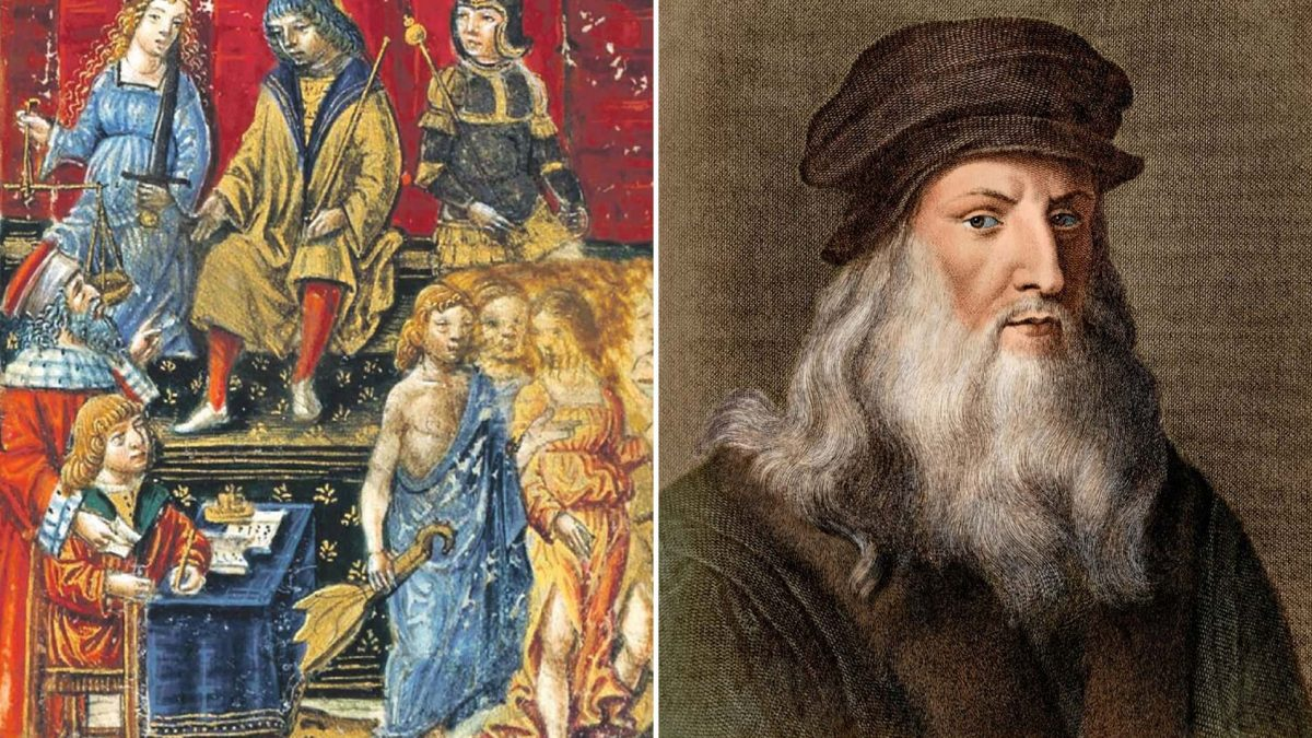 Leonardo da Vinci'nin Tasviri ile Laiklik